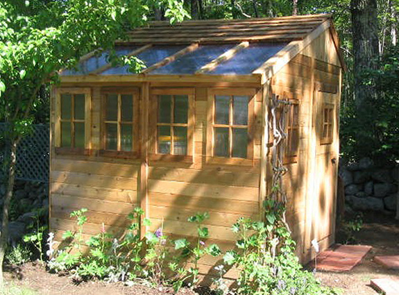 Outdoor Living 8'X8' Sunshed Garden Shed